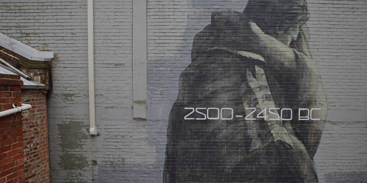 Faith 47 - 2500 -2450 BC (detail) - Dunedin, New Zealand
