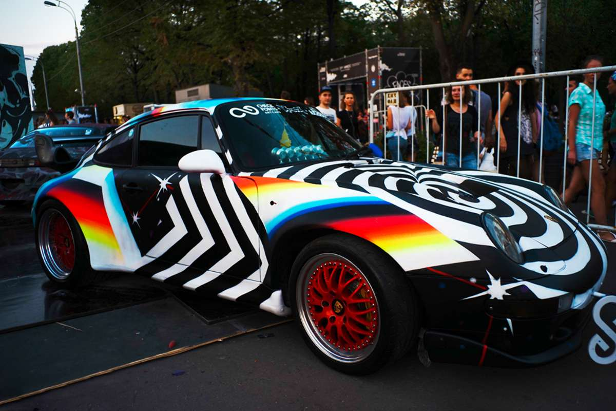 Felipe Pantone - Supercars - Moscow, Russia - 2015