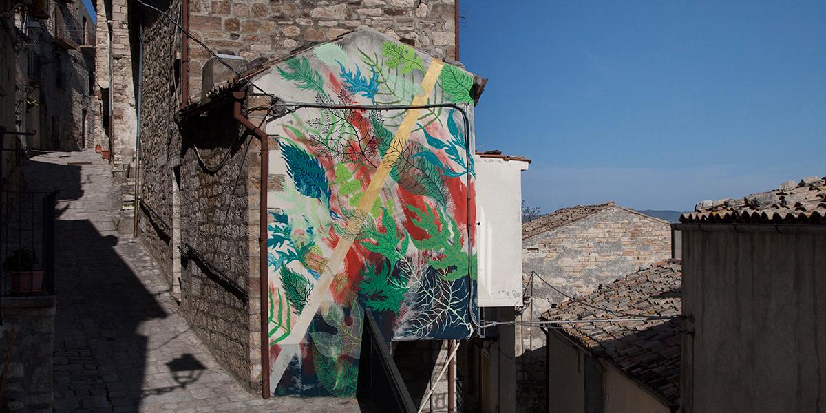 Gola Hundun - Mural in Civitacampomarano, Italy, 2017 - Image courtesy of Alessia di Risio