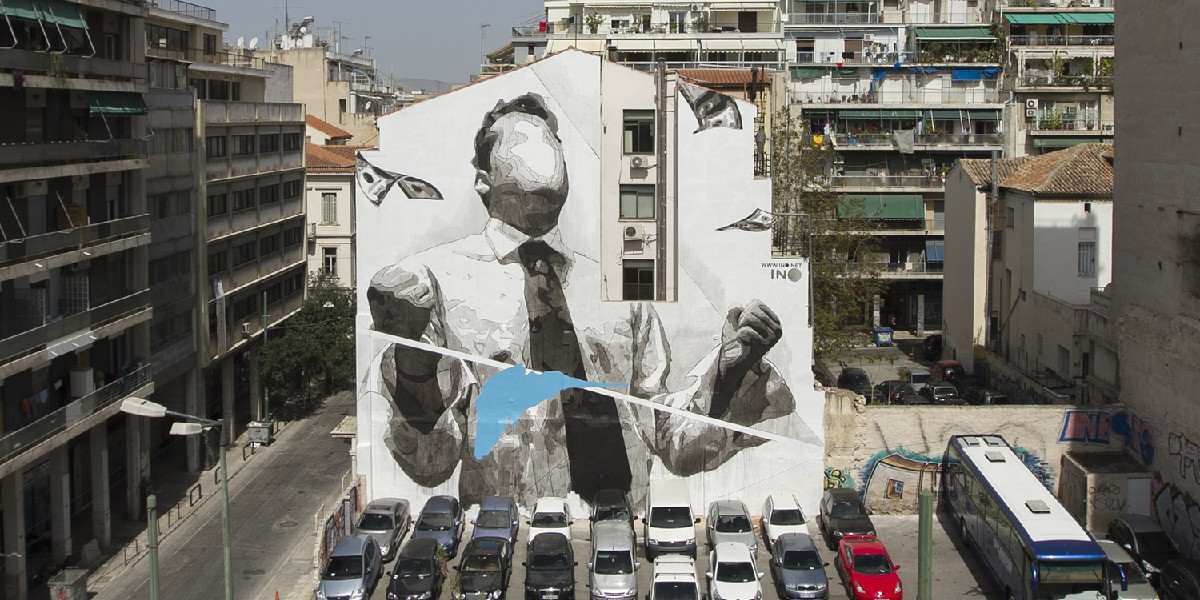 INO - Snowblind, Athens, Greece, 2016, photo courtesy of the artist