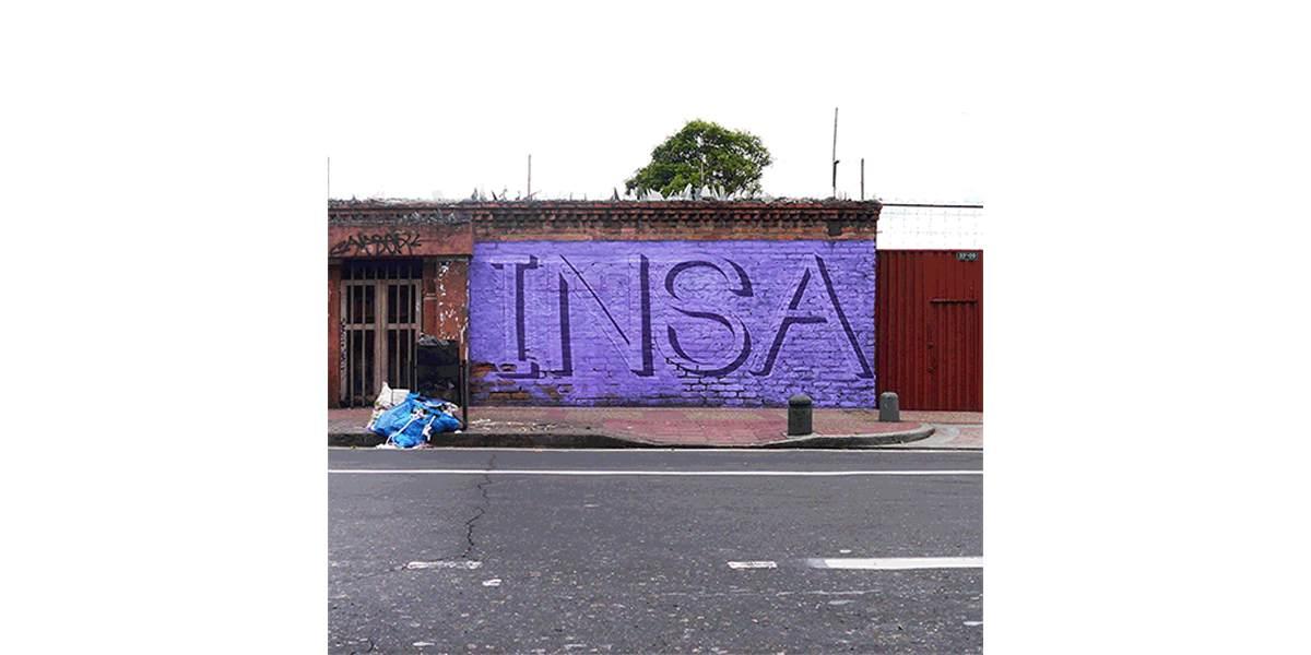 INSA - 'Time Passes' Bogota Colombia 2013