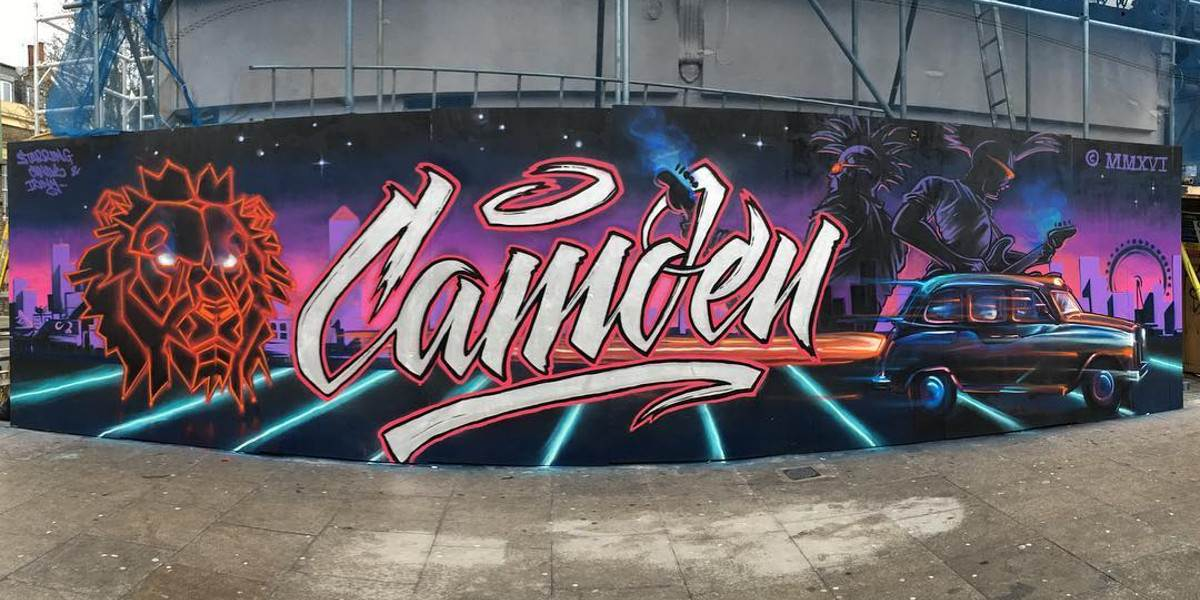 Irony and Candie - Camden Market, London, 2016