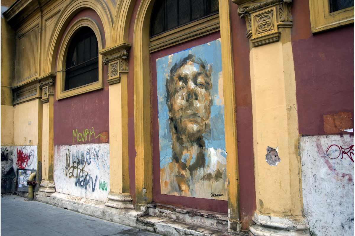 Jerico - AFFISSIONE ABBUSIVA, La mia pietà, Rome, 2014