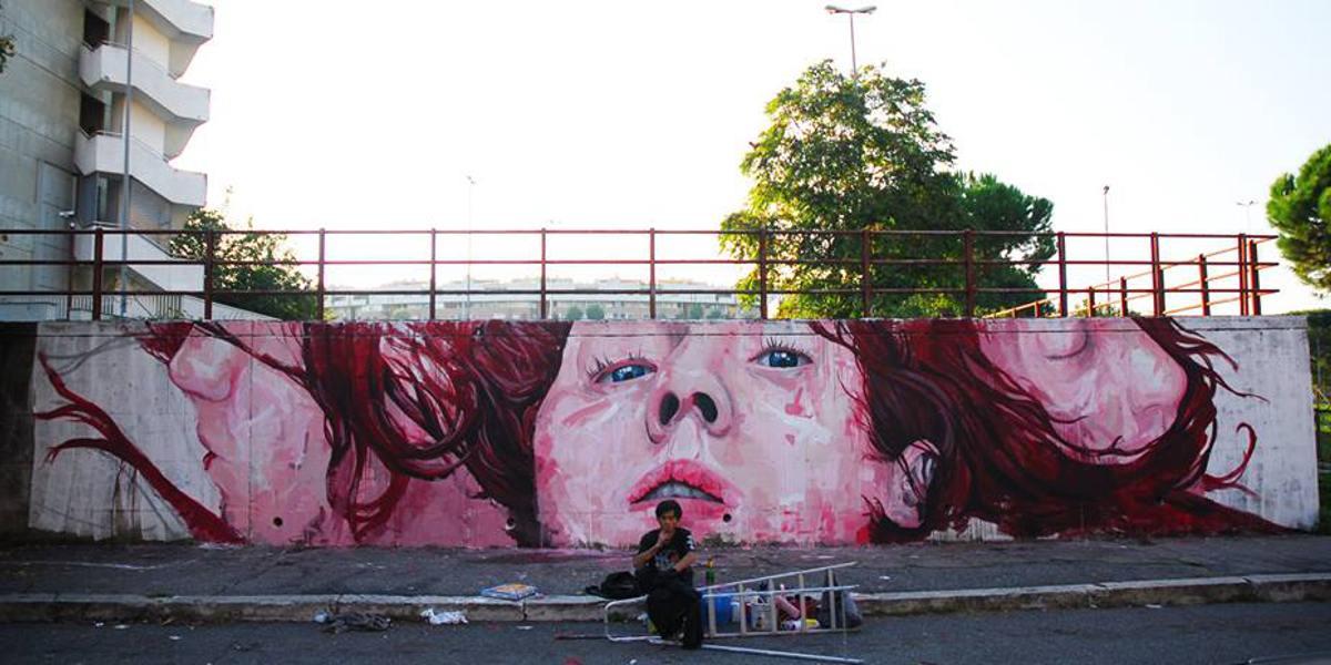 Jerico - No title, Rome, 2013