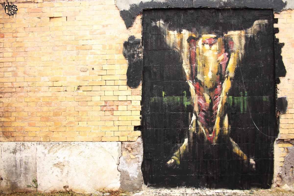 Jerico - Slaughtered, Rome, 2015 - Photo by Urbis Ars