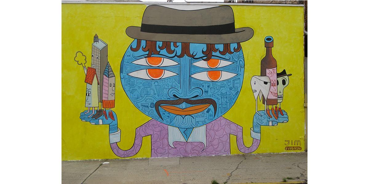 Jim Avignon - Love this! Bushwick Five Points Festival, New York, 2012