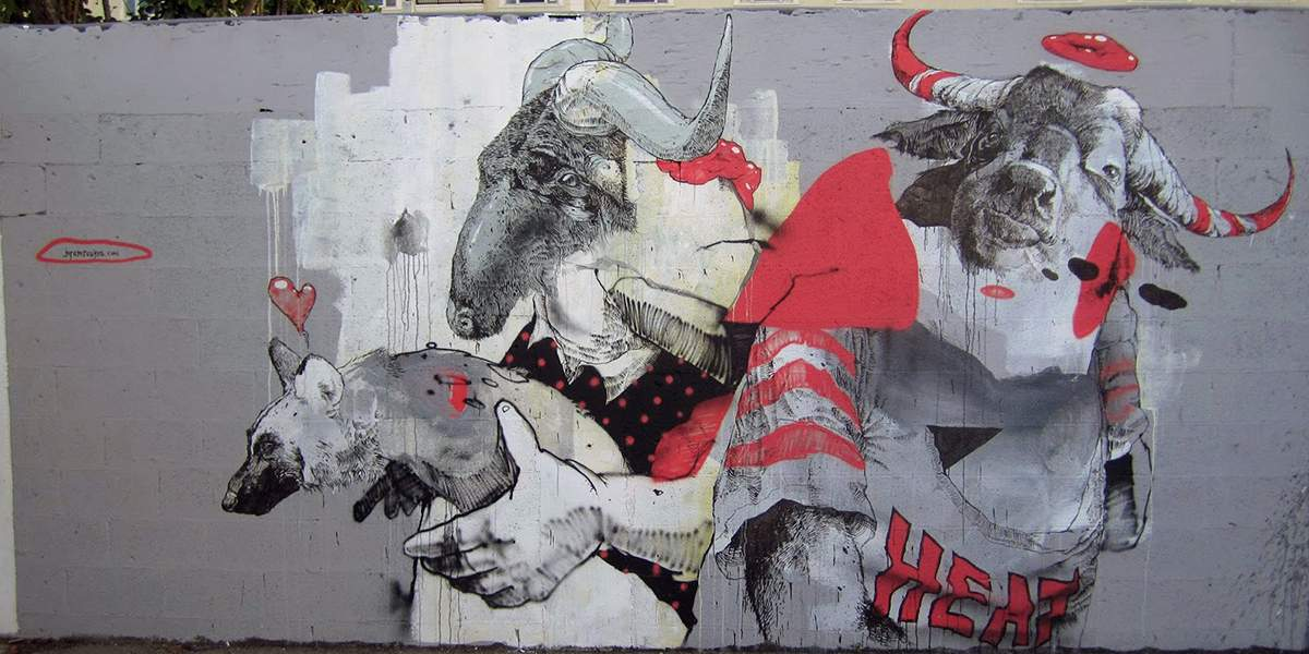 Joram Roukes - Art Basel, Miami, 2013