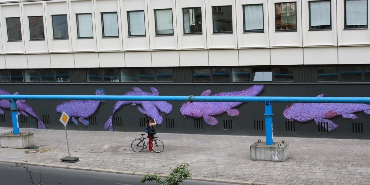 Karl Addison - 14 Tails (detail), Berlin, Germany, 2014