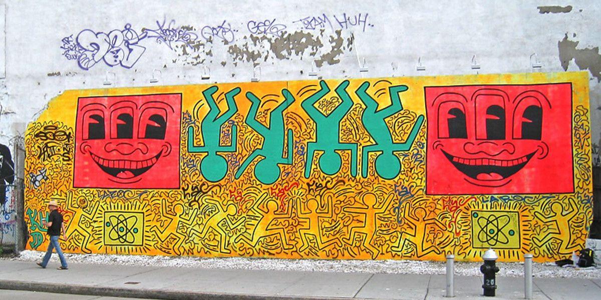 Keith Haring - Houston Bowery Street - New York, 1982