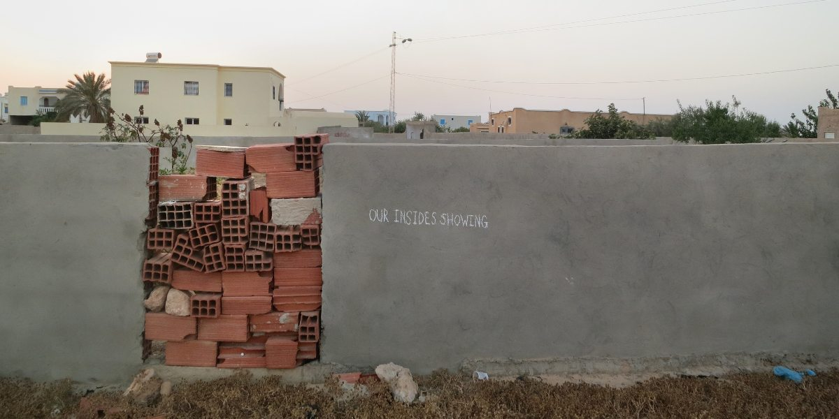 Know Hope - Our Insides Showing, Tunisia, 2014 - Image courtesy of the artist