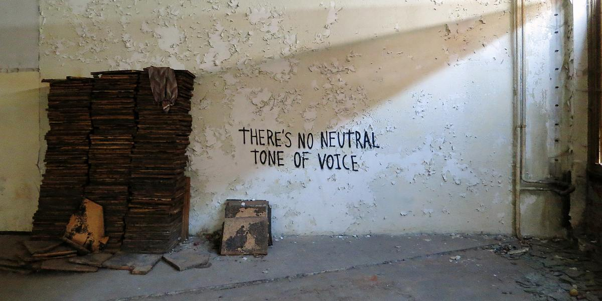 Know Hope - There's No Neutral Tone of Voice, Schmalkalden, 2014 - Image courtesy of the artist