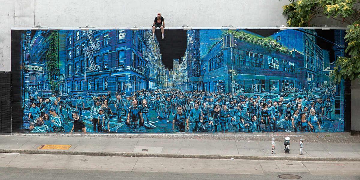Logan Hicks - Story Of My Life, New York, 2016 - photo credits Tom Akerman