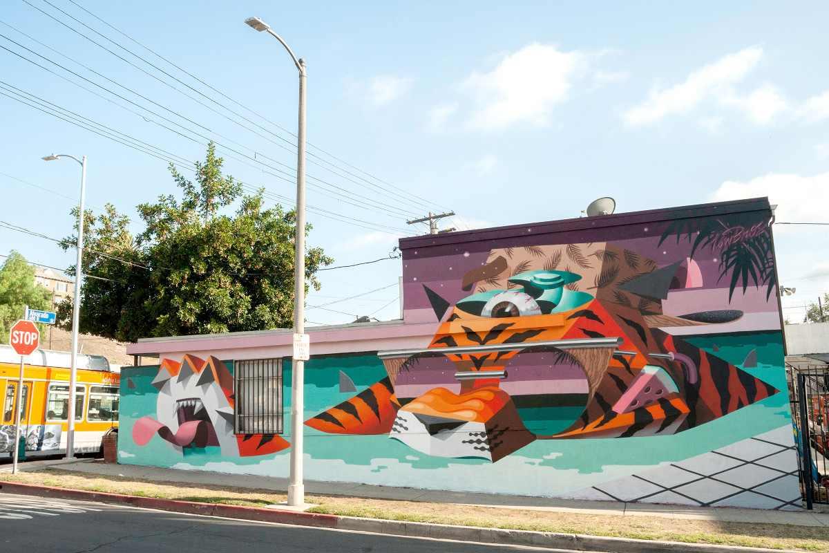 Los Bros - Tigerstyle - Los Angeles, CA, 2015, photo by Omar Kenji Cruz