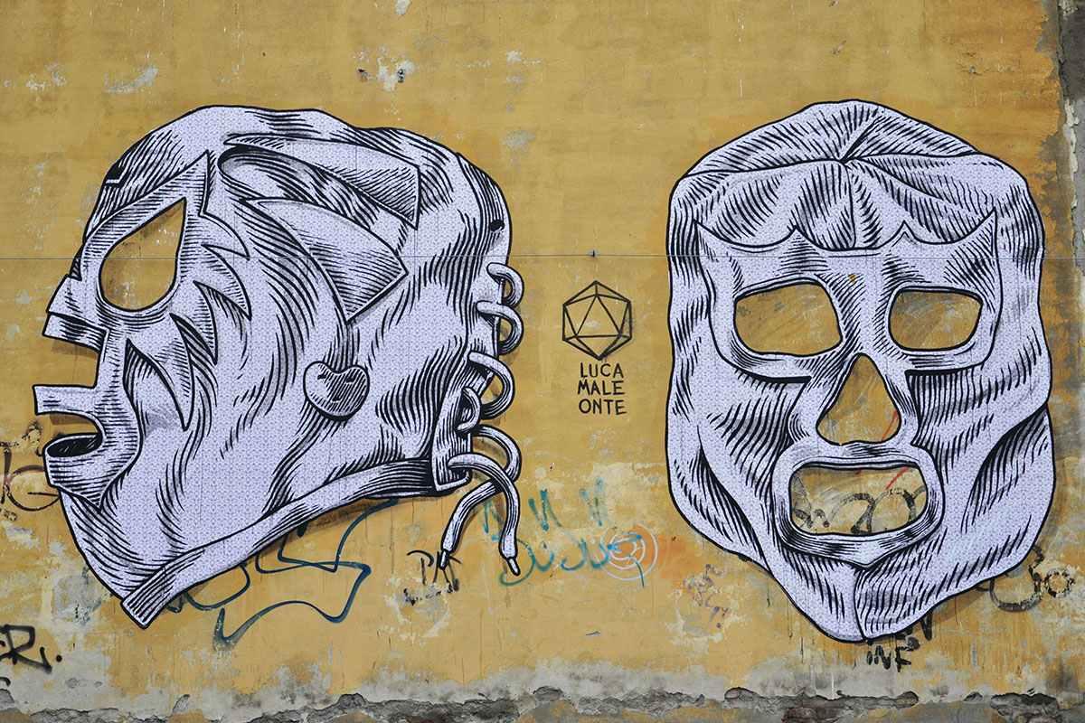 Lucamaleonte - Mural for Cheap Festival, 2014, photo credits - Il Gorgo