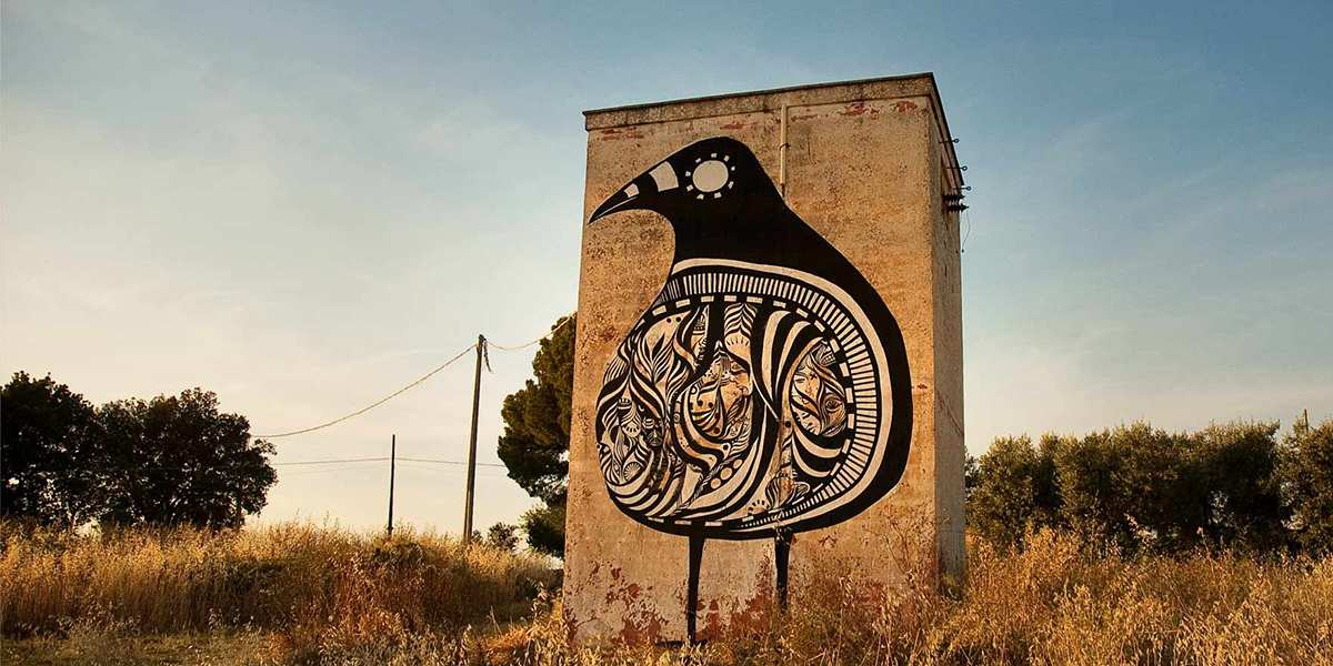 Lucy McLauchlan - Nesting Birds, Grottaglie, Italy, 2009