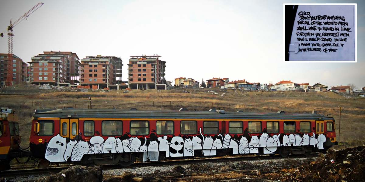 Lunar - Time Is My Everything, Pristina, 2011 - Photo Credits Lunar