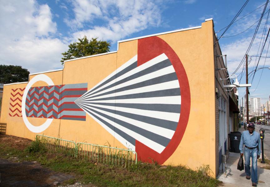Marina Merlini - Living walls festival, Atlanta, 2013