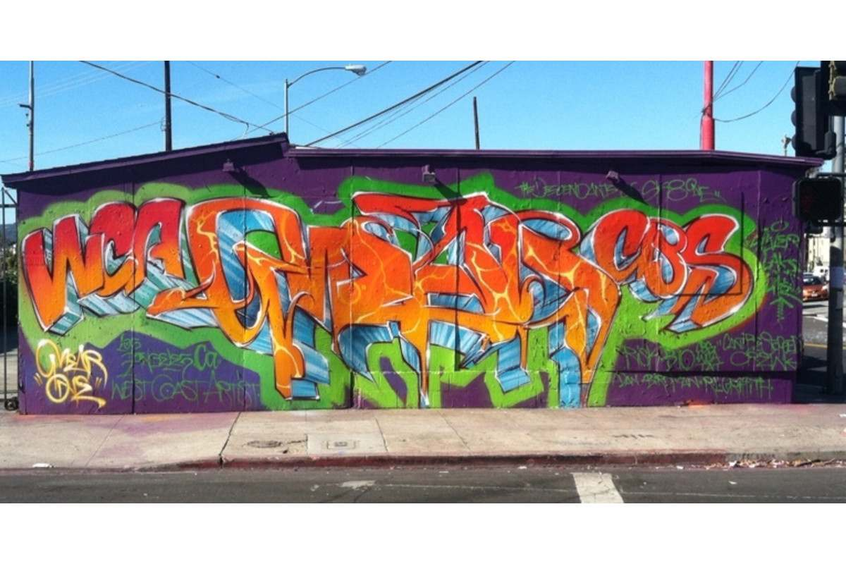 Mear One - Sunset Junction, Los Angeles, California - 2012