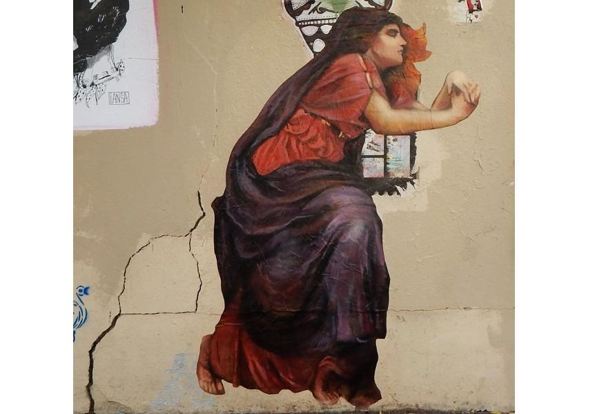 Nadege Dauvergne - Iseult, 2014, Rue de la Butte-aux-Cailles, Paris, photo credits - artist