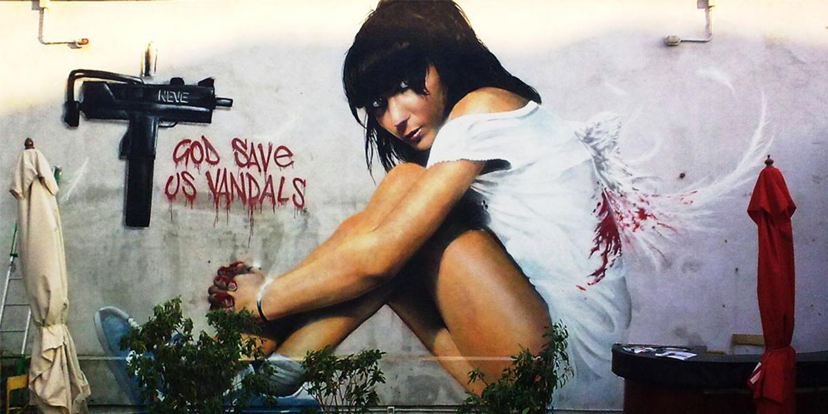 Neve - God Save Us Vandals, Milan, 2009