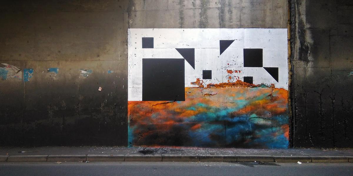 Nikola Mihajlovic - 4.1, Dimensional cuts,Belgrade, 2017 - image courtesy of the artist