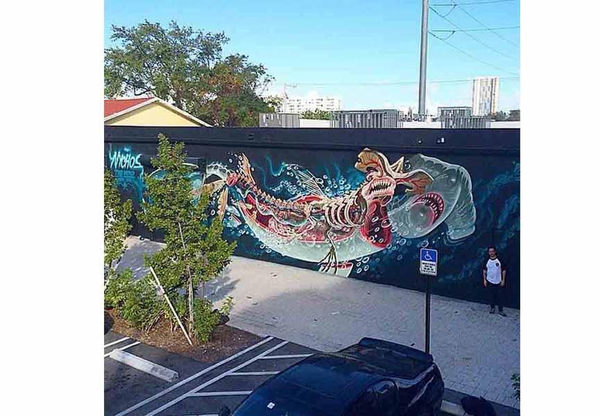 Nychos for Art Basel Miami 2014