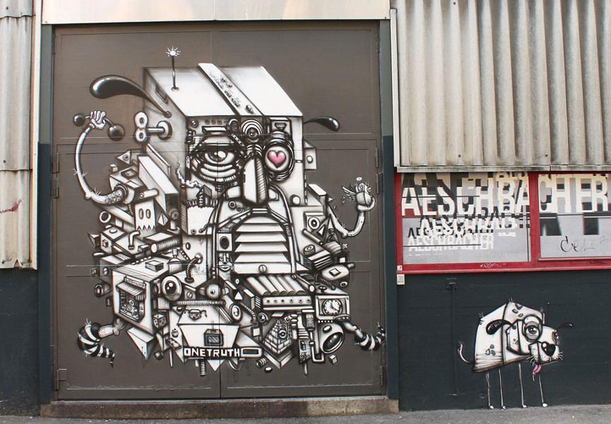 One Truth, Urbanisator, Aeschbacher laborbar, Zurich, 2013