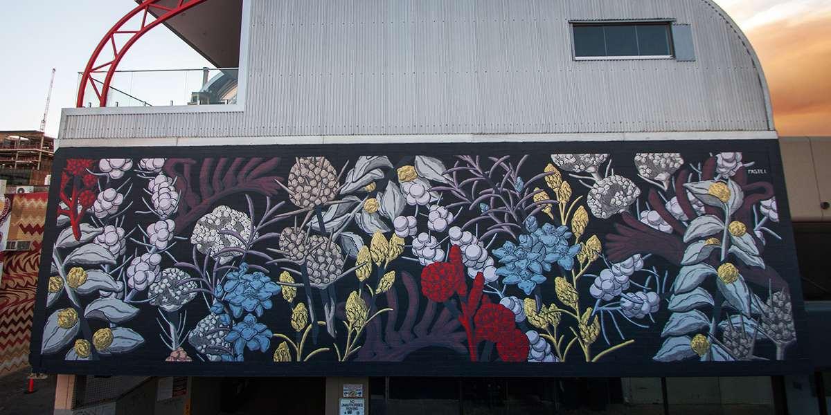 Pastel - Mural for Public 2015, Perth, Australia