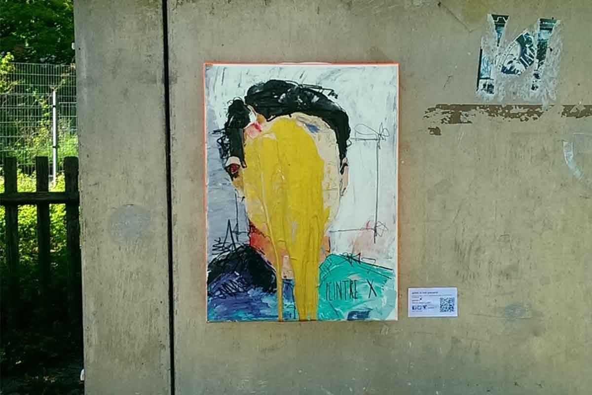 Peintre X - The Golden Boy, Munich, 2015