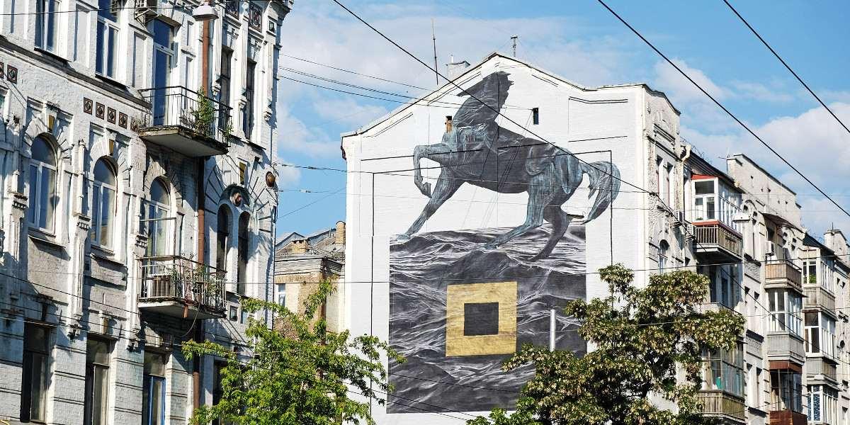 Ricky Lee Gordon - mural for Art United Us, Kiev, Ukraine, 2016, photo credits of the artist