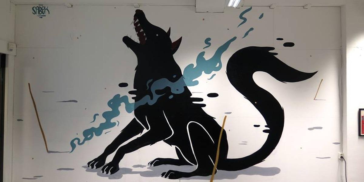 Sabek - 8230 Exhibition - NOK Gallery, Bodo, Norway