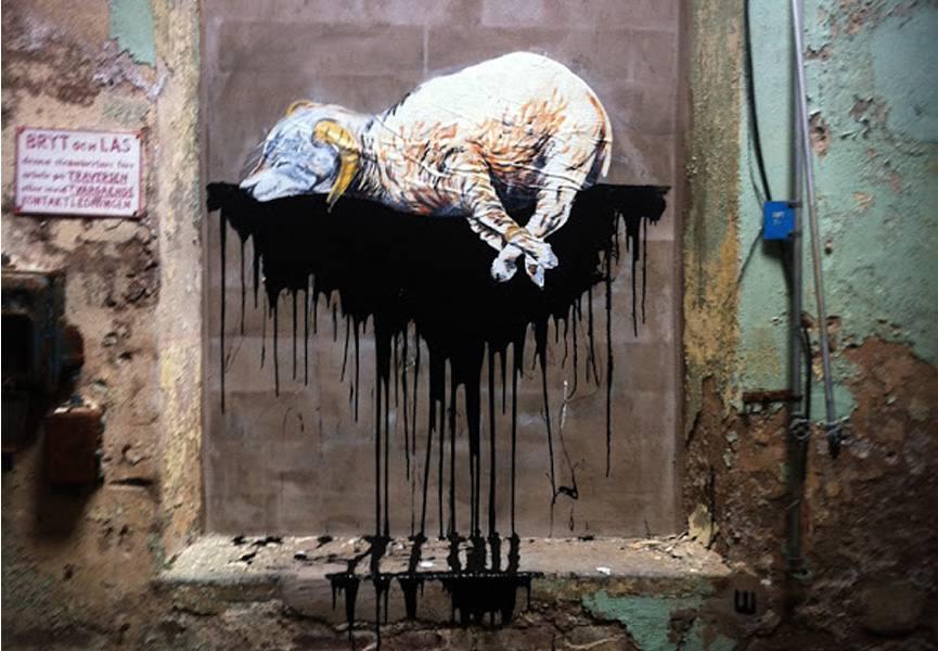Shai Dahan Mural Boras Streets 2011