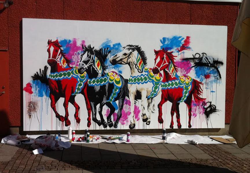 Shai Dahan Mural Boras Streets 2011#2