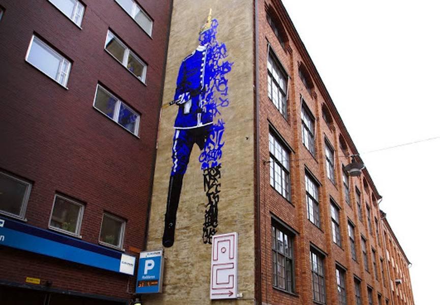 Shai Dahan Mural Stockholm, 2012, photo credit KollektivetLivet