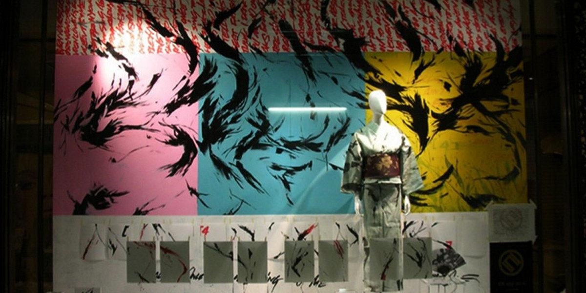 SheOne - Mural in Hankyu (detail), Osaka, Japan, 2005