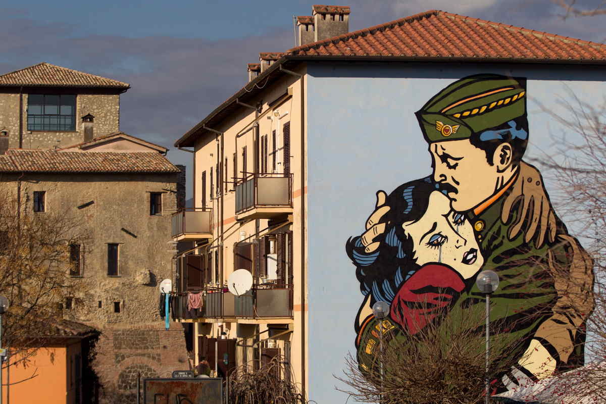 Solo - The people never win during war, Selci, Sabina, Italy 2015, photo credits ©BlindEyeFactory