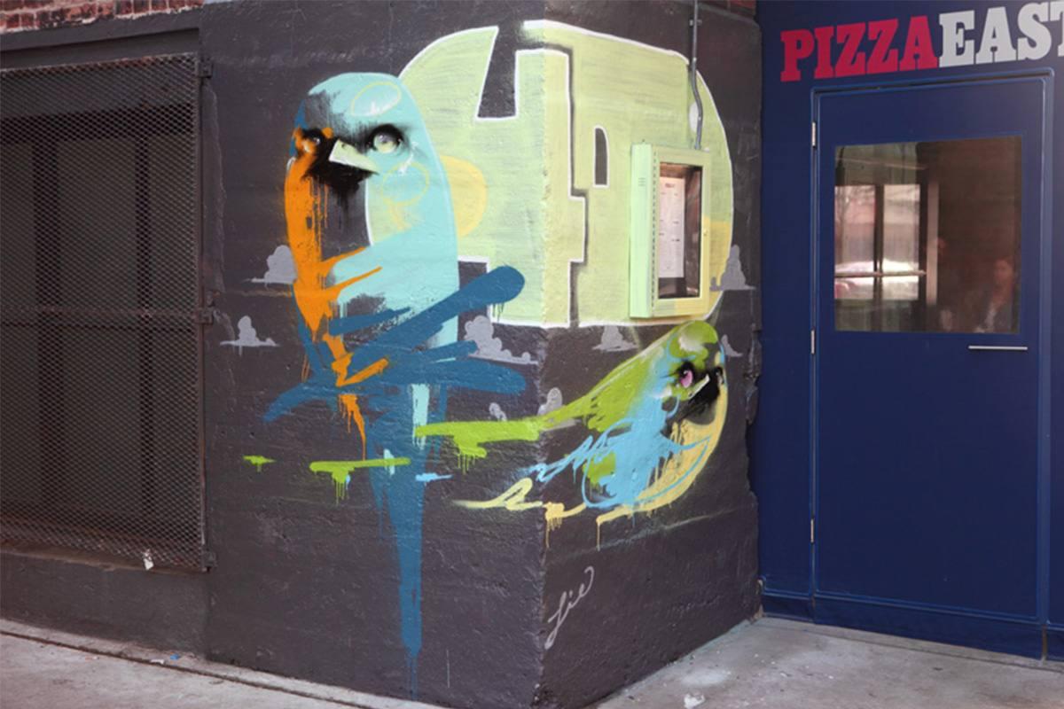 The Lie - Soho house mural, Chicago, 2015
