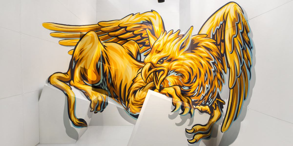 Truly Design - Griffin, Magic City Festival, Dresden, Germany, photo courtesy of the artists