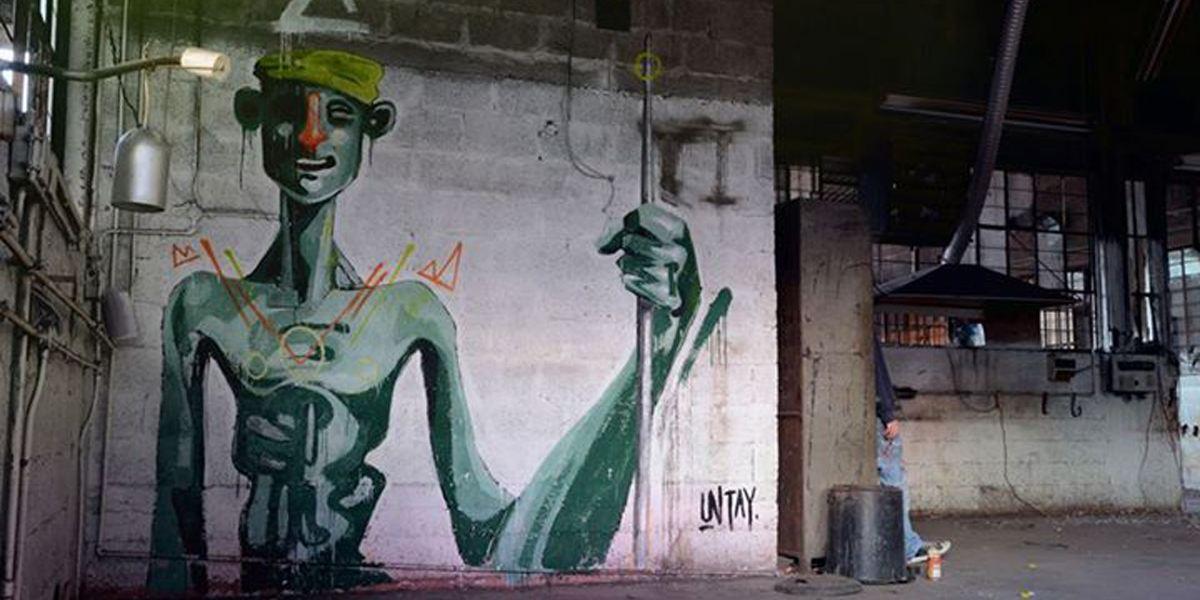 Untay - Ties Hunter, Tel Aviv 2014