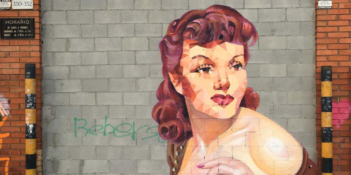 Uriginal - Mural In Hospitalet Poligono Industrial #2 - image courtesy of the artist