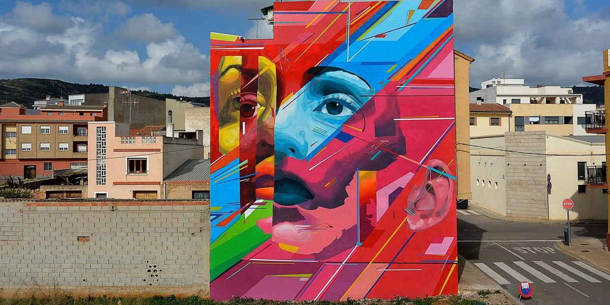 Uriginal - Mural in Torreblanca - image courtesy of the artist