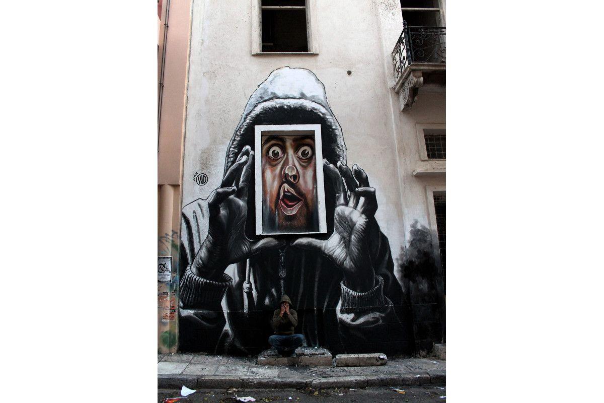 WD aka Wild Drawing - Capture - Athens, Greece, 2013