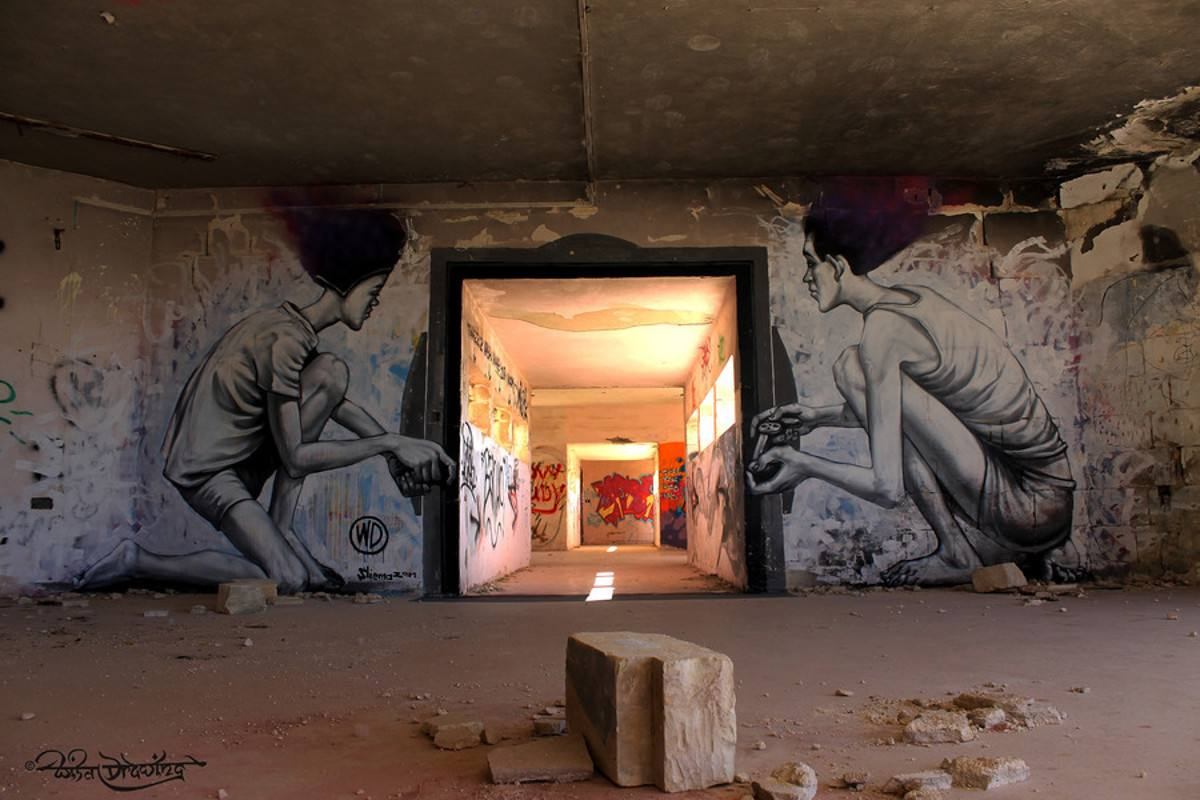 WD aka Wild Drawing - No game No gain, Malta 2014