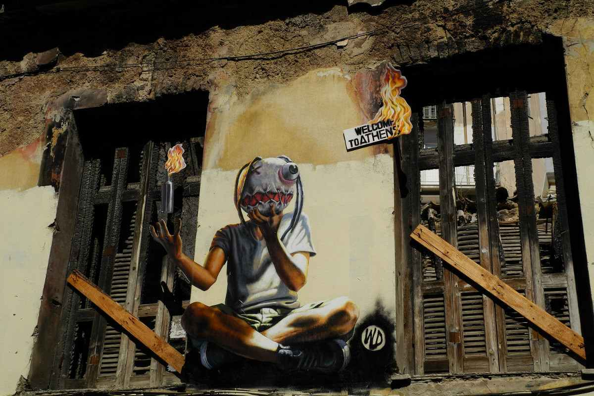 WD aka Wild Drawing - Welcome to Athens - Athens, Greece, 2012