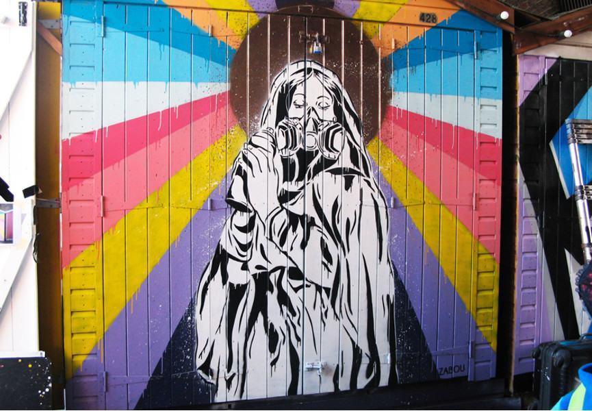 Zabou - Alleluia, 2014, Camden, London, UK, photo credits - artist