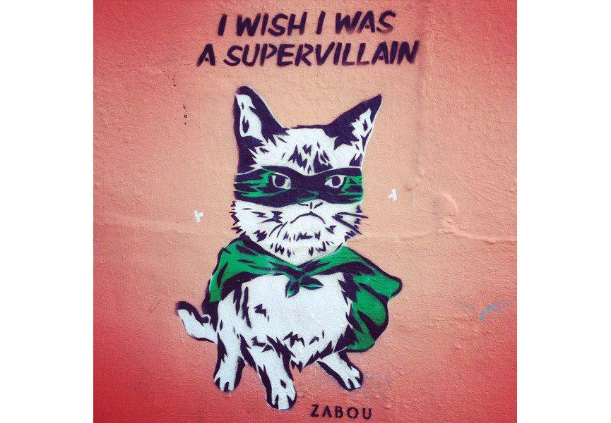 Zabou - I Wish I Was A Supervillain, 2014, East London, photo credits - artist
