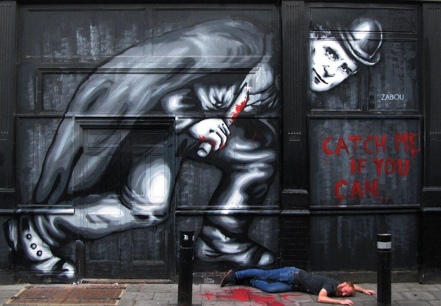 Zabou - Jack The Ripper, 2015, London, UK, photo credits - artist