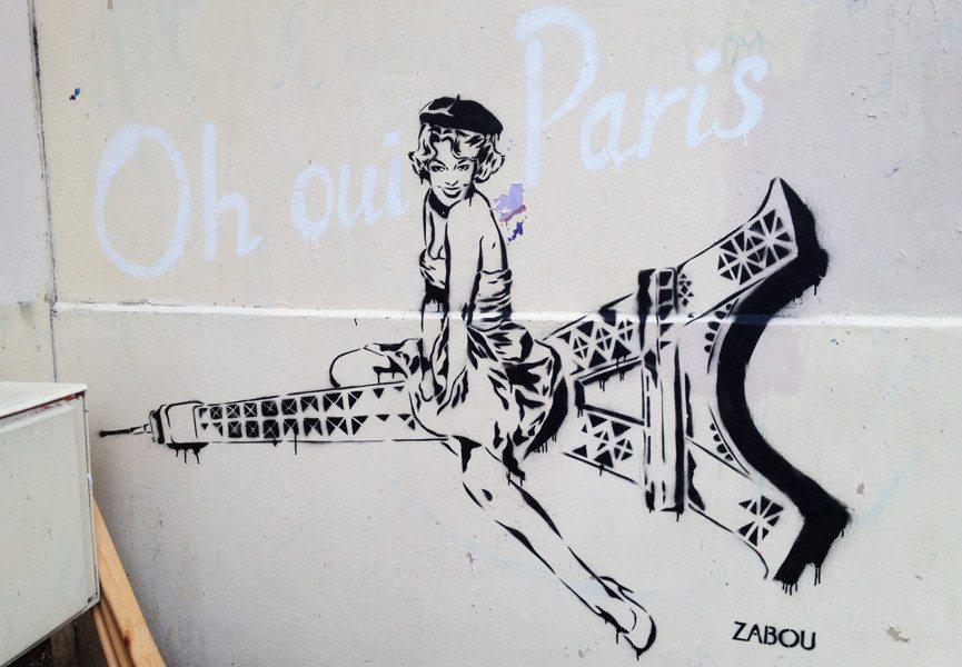 Zabou - Oh Oui Paris, 2014, Belleville, Paris, France, photo credits - artist