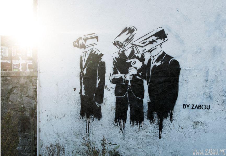 Zabou - Surveillance, 2012, Weston-Super-Mare, UK, photo credits - artist