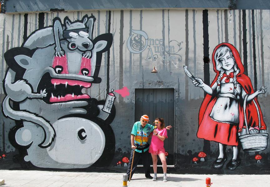 Zabou x Kiwie - Once Upon A Time, 2015, Limassol, Cyprus, photo credits - Zabou